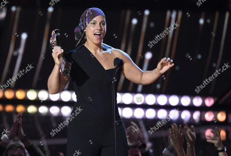 Editorial photo of Alicia Keys-Performing Arts Center, Los Angeles, USA - 14 Mar 2019
