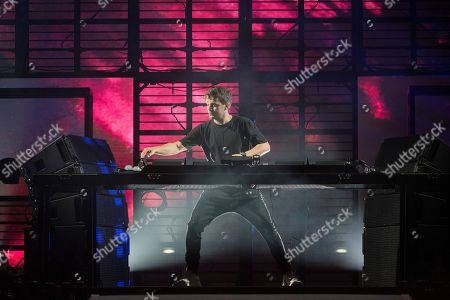 Dutch DJ Martin Garrix performs at the Sziget (Island) Festival on Shipyard Island, Northern Budapest, Hungary, 09 August 2019. The festival is one of the biggest cultural events of Europe offering art exhibitions, theatrical and circus performances and above all music concerts in seven days.