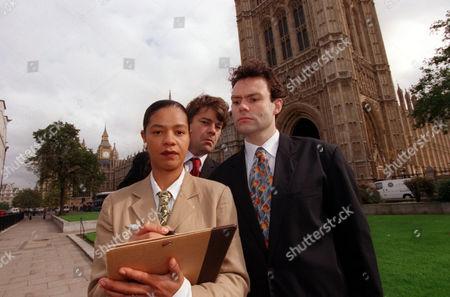 The Stars Of Ugly Rumours A Satire By Tariq Ali & Howard Brenton. Neil Mullarkey (tony Blair) Jaye Griffths (peter Mandelson) Gordon Kennedy (gordon Brown).
