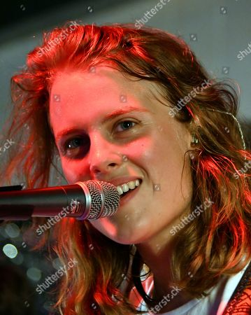 Editorial photo of Marika Hackman in concert at Rough Trade East, London, UK - 09 Aug 2019