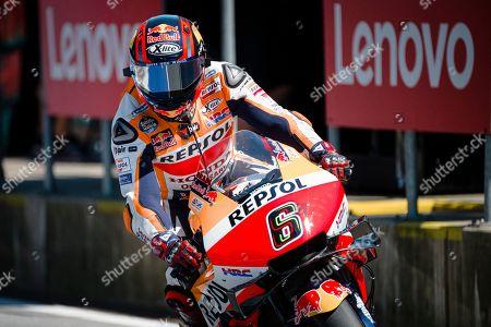 Stefan Bradl of Repsol Honda Team