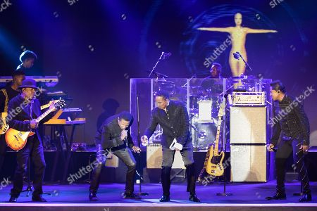 Stock Picture of The Jacksons - Tito Jackson, Jackie Jackson, Marlon Jackson, Jermaine Jackson