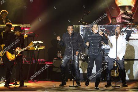 The Jacksons - Tito Jackson, Jackie Jackson, Jermaine Jackson, Marlon Jackson