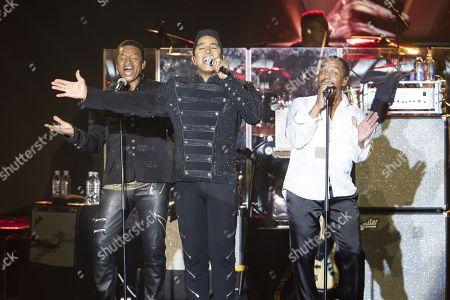 The Jacksons - Jackie Jackson, Jermaine Jackson, Marlon Jackson