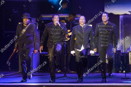 The Jacksons - Tito Jackson, Jackie Jackson, Marlon Jackson, Jermaine Jackson
