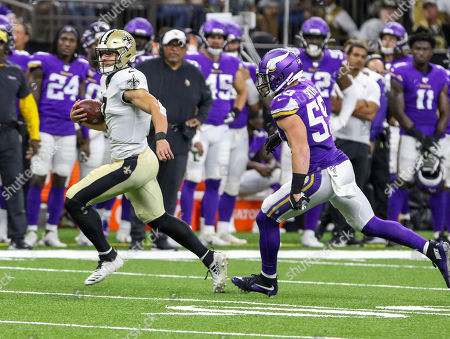 Editorial image of NFL Football Vikings vs Saints, New Orleans, USA - 09 Aug 2019
