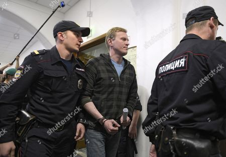 Russian opposition members court hearing, Moscow