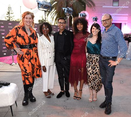 Our Lady J, Charlayne Woodard, Steven Canals, Indya Moore, Alexis Martin Woodall and Brad Simpson