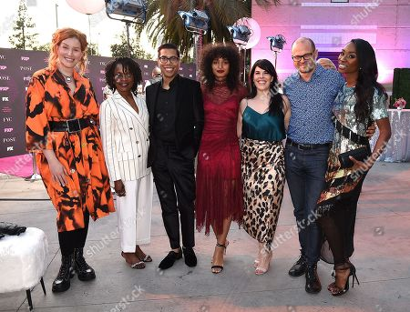 Our Lady J, Charlayne Woodard, Steven Canals, Indya Moore, Alexis Martin Woodall, Brad Simpson and Angelica Ross