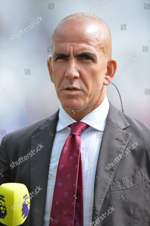 Paolo Di Canio during West Ham United vs Manchester City, Premier League Football at The London Stadium on 10th August 2019