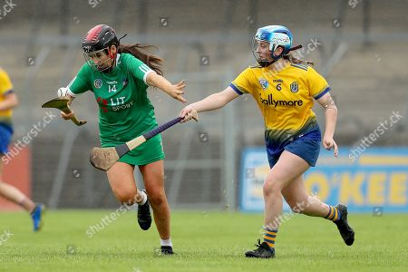 Editorial picture of Liberty Insurance All-Ireland Premier Junior Camogie Championship Semi-Final, Cusack Park, Ennis - 10 Aug 2019