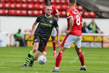 Forest Green Rovers Carl Winchester(7) on the ball during the EFL Sky Bet League 2 match between Walsall and Forest Green Rovers at the Banks's Stadium, Walsall