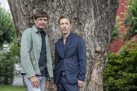Stock Picture of Ulrich Koehler (L) and Henner Winkler pose during the photocall for the film 'das freiwillige Jahr' at the 72nd Locarno International Film Festival, in Locarno, Switzerland, 10 August 2019. The Festival del film Locarno runs from 07 to 17 August.