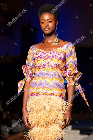 Editorial image of Africa Fashion Week, London, UK - 10 Aug 2019