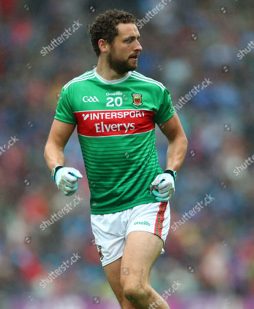 Dublin vs Mayo. Mayo's Tom Parsons