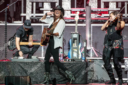 Editorial picture of Terri Clark in concert at HEB Center, Texas, USA - 09 Aug 2019
