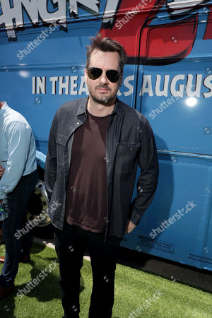 Jim Jefferies at the Premiere of Columbia Pictures and Rovio Animations 'The Angry Birds Movie 2' at Regency Village Theatre, in theaters Tuesday, August 13'