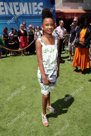 Genesis Tennon at the Premiere of Columbia Pictures and Rovio Animations 'The Angry Birds Movie 2' at Regency Village Theatre, in theaters Tuesday, August 13'