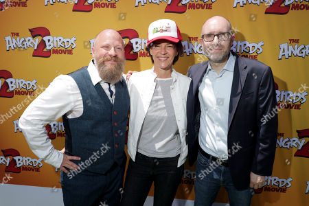Editorial photo of Columbia Pictures and Rovio Animations 'The Angry Birds Movie 2' film premiere at Regency Village Theatre, Los Angeles, USA - 10 Aug 2019