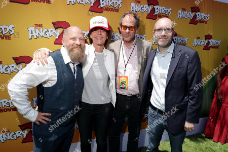 Editorial picture of Columbia Pictures and Rovio Animations 'The Angry Birds Movie 2' film premiere at Regency Village Theatre, Los Angeles, USA - 10 Aug 2019