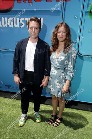 Beck Bennett and Jessy Hodges at the Premiere of Columbia Pictures and Rovio Animations' 'The Angry Birds Movie 2' at Regency Village Theatre, in theaters Tuesday, August 13'