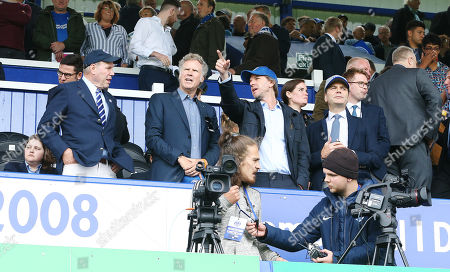 Portsmouth's Chairman Michael Eisner and Will Ferrell