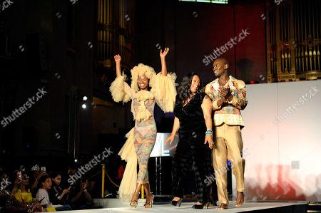 Editorial photo of Africa Fashion Week, London, UK - 10 Aug 2019