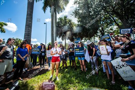 Editorial picture of Walmart gun sales protest, Coral Springs, USA - 10 Aug 2019