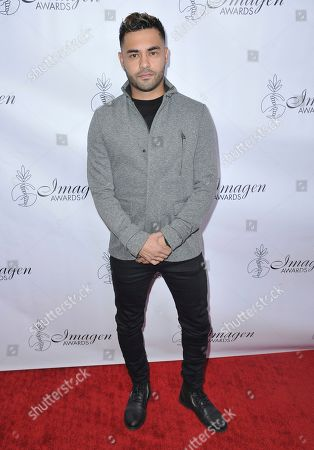 Stock Picture of Gabriel Chavarria arrives at the 34th annual Imagen Awards, at the Beverly Wilshire Hotel in Beverly Hills, Calif