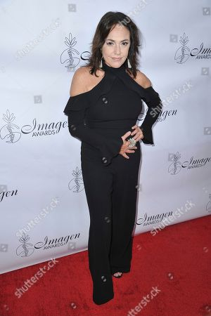 Claudia Brant arrives at the 34th annual Imagen Awards, at the Beverly Wilshire Hotel in Beverly Hills, Calif