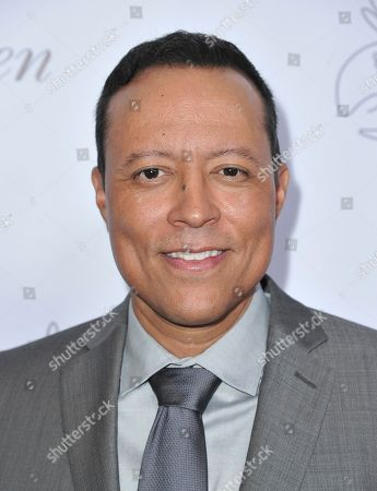 Yancey Arias arrives at the 34th annual Imagen Awards, at the Beverly Wilshire Hotel in Beverly Hills, Calif