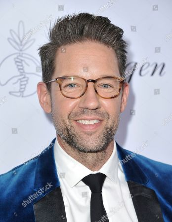 Todd Grinnell arrives at the 34th annual Imagen Awards, at the Beverly Wilshire Hotel in Beverly Hills, Calif