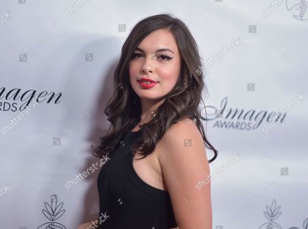 Isabella Gomez arrives at the 34th annual Imagen Awards, at the Beverly Wilshire Hotel in Beverly Hills, Calif