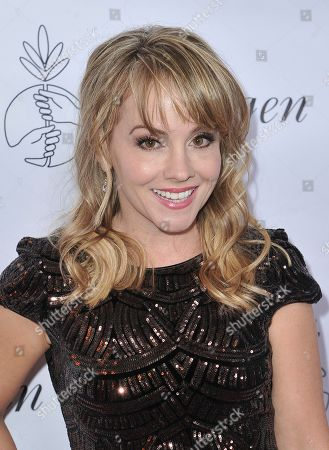 Stock Image of Kelly Stables arrives at the 34th annual Imagen Awards, at the Beverly Wilshire Hotel in Beverly Hills, Calif