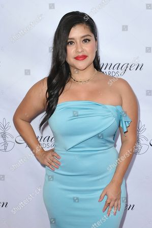 Chelsea Rendon arrives at the 34th annual Imagen Awards, at the Beverly Wilshire Hotel in Beverly Hills, Calif