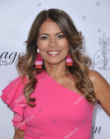 Stock Photo of Lisa Vidal arrives at the 34th annual Imagen Awards, at the Beverly Wilshire Hotel in Beverly Hills, Calif