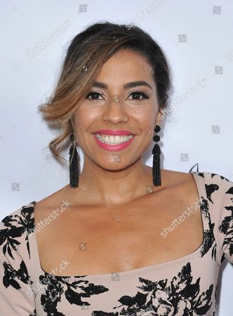 Stock Picture of Christina Vidal arrives at the 34th annual Imagen Awards, at the Beverly Wilshire Hotel in Beverly Hills, Calif