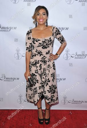 Stock Photo of Christina Vidal arrives at the 34th annual Imagen Awards, at the Beverly Wilshire Hotel in Beverly Hills, Calif