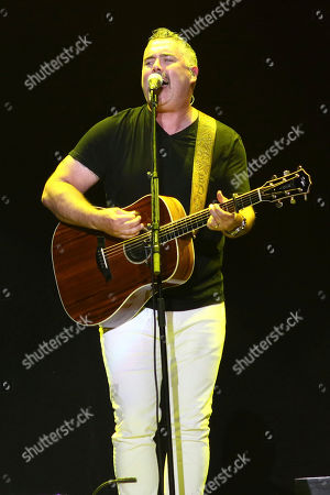 Ed Robertson of the Barenaked Ladies performs at Madison Square Garden, in New York