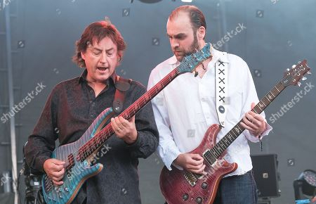 Stock Picture of Martin Barre Band - Alan Thomson and Dan Crisp
