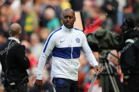 Stock Photo of Chelsea Assistant coach Eddie Newton