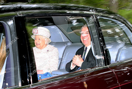 British Royals attend Crathie Church, Balmoral