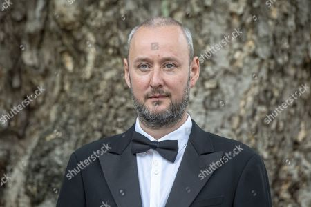 Icelandic director Runar Runarsson poses during the photocall for the film 'Bergmal' at the 72nd Locarno International Film Festival, in Locarno, Switzerland, 11 August 2019. The Festival del film Locarno runs from 07 to 17 August.