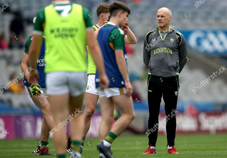 Stock Picture of Kerry vs Galway . Kerry manager James Costello