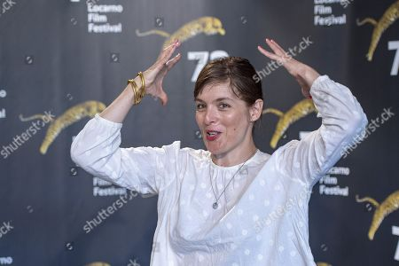 Valerie Donzelli poses during the photocall for the film 'Notre Dame' at the 72nd Locarno International Film Festival, in Locarno, Switzerland, 11 August 2019. The Festival del film Locarno runs from 07 to 17 August.