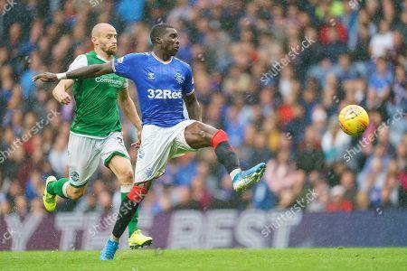 Editorial photo of Rangers v Hibernian, Ladbrokes Scottish Championship, Football, Ibrox, Glasgow, Scotland - 11 Aug 2019