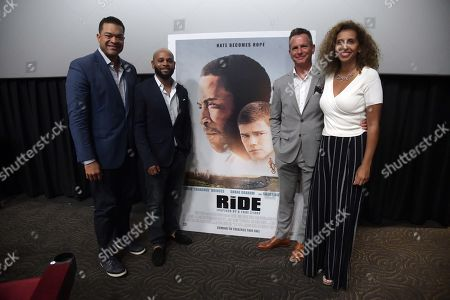 Stock Picture of Michael Eaves, Hadeel Reda, Kevin Asbell and Scott Kennedy