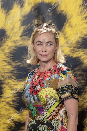 Emmanuelle Beart poses during the photocall for the film 'Merveilles a Montfermeil' at the 72nd Locarno International Film Festival, in Locarno, Switzerland, 11 August 2019. The Festival del film Locarno runs from 07 to 17 August.