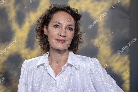 Jeanne Balibar poses during the photocall for the film 'Merveilles a Montfermeil' at the 72nd Locarno International Film Festival, in Locarno, Switzerland, 11 August 2019. The Festival del film Locarno runs from 07 to 17 August.