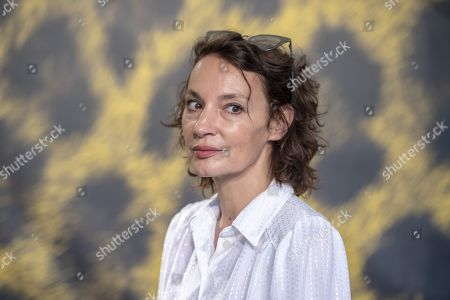 Stock Image of Jeanne Balibar poses during the photocall for the film 'Merveilles a Montfermeil' at the 72nd Locarno International Film Festival, in Locarno, Switzerland, 11 August 2019. The Festival del film Locarno runs from 07 to 17 August.